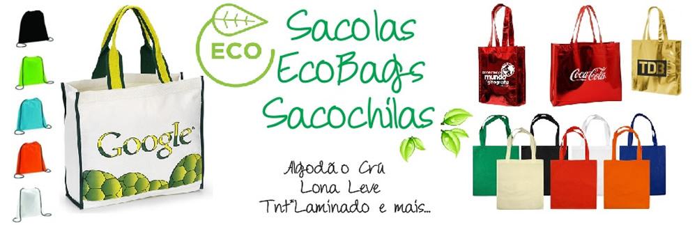 Sacolas Ecobag Personalizadas